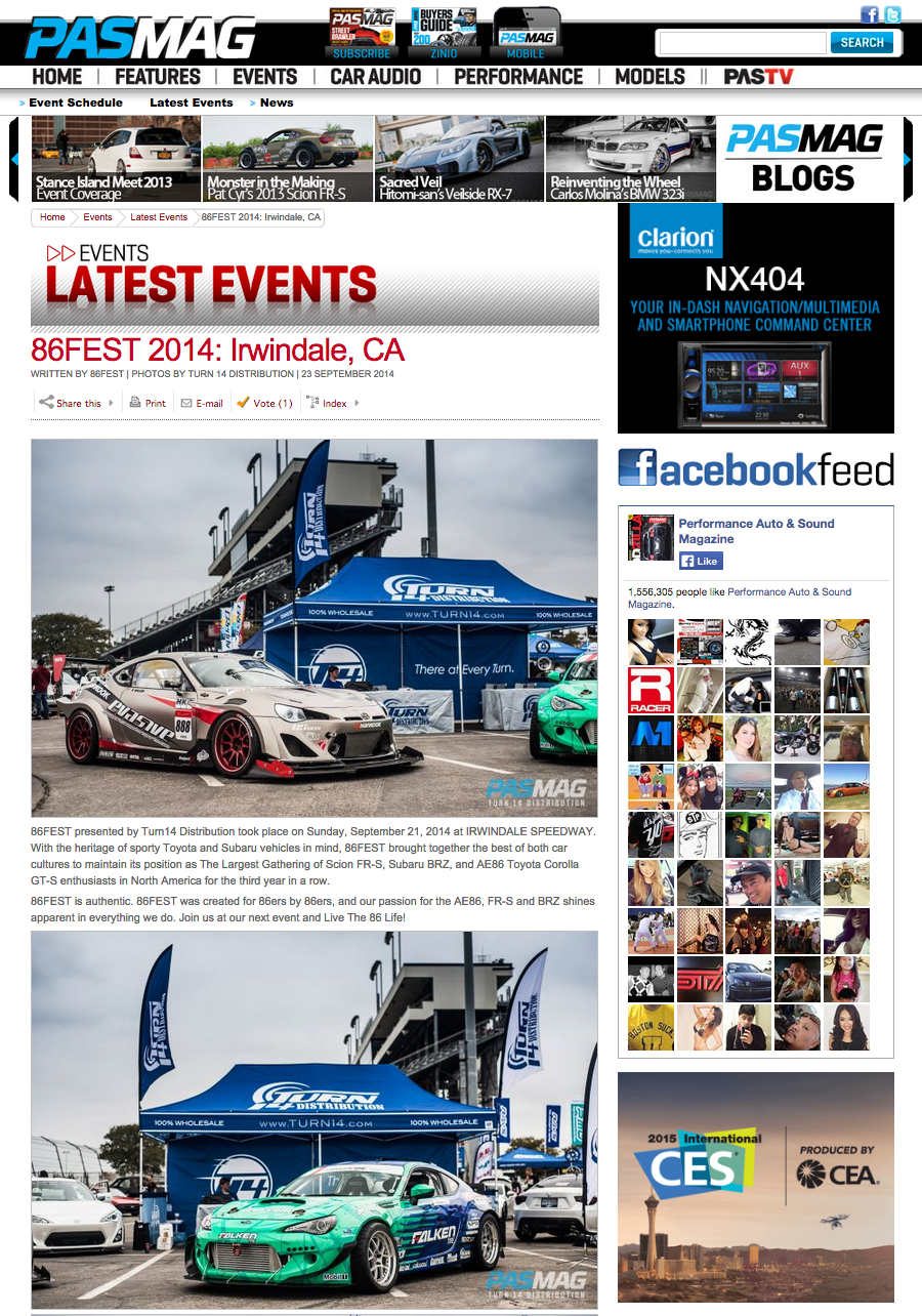 Pasmag, 86FEST, Scion FRS, AE86, Irwindale Speedway