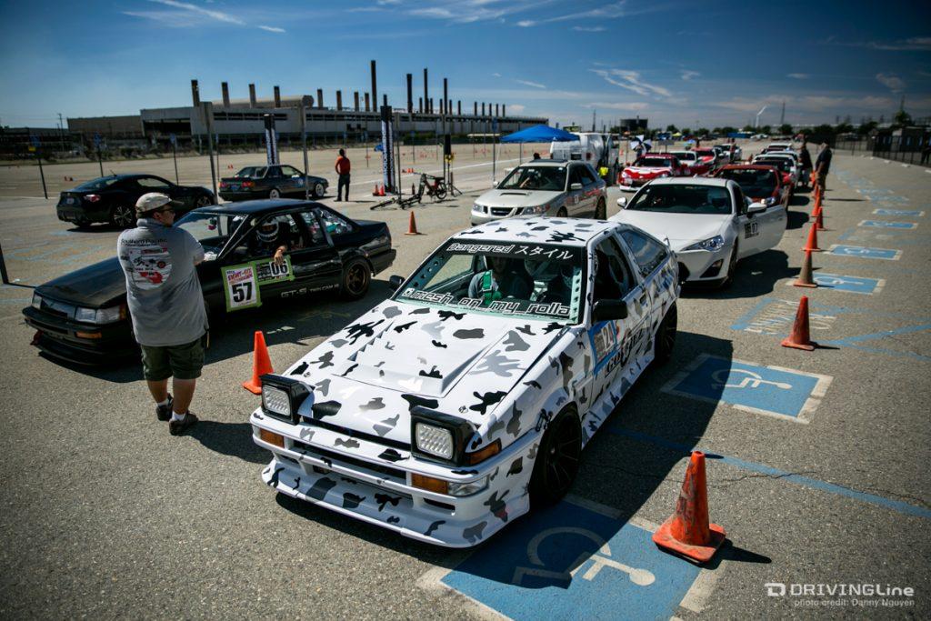 86FEST, 86FEST 4, Driving Line, AE86, 4AGE, autocross