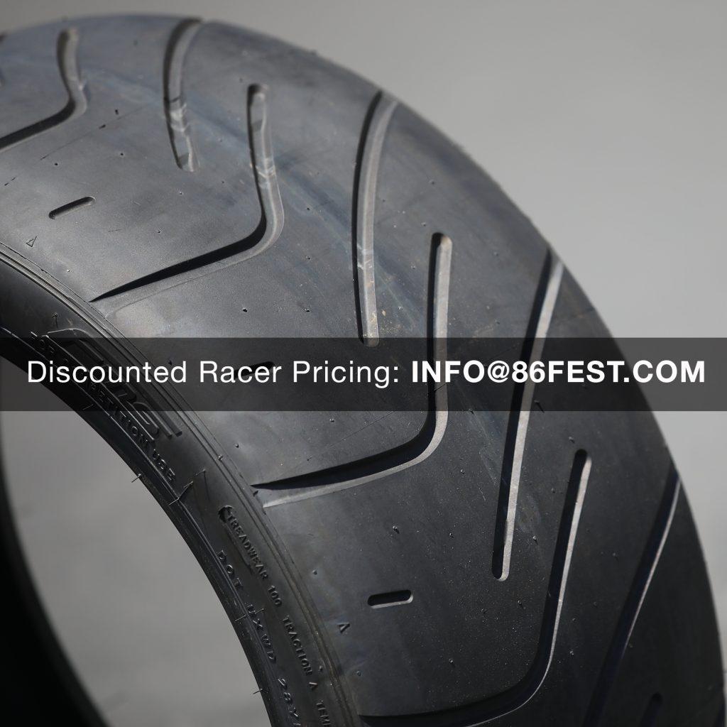 Federal Tire, FZ201, semi slick, 100 treadwear